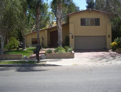 Private Home on Multi Level Lot in Woodland Hills